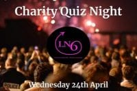 Charity Quiz Night Logo with Image